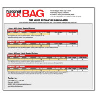FIBC, poly liners, National Bulk Bag, bulk bag liners