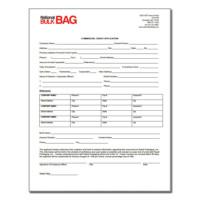 FIBC bulk bag credit application