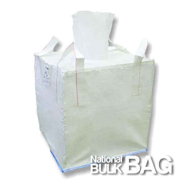 In-Stock Spout Top FIBC Bulk Bags - National Bulk Bag