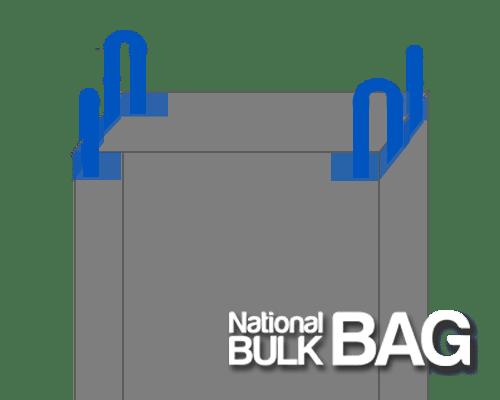 Cross Corner Bulk Bags - National Bulk Bag